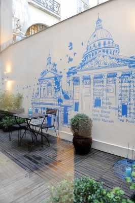 Mercure Paris la Sorbonne – Courtyard